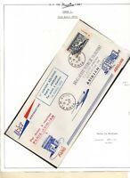 1953 France, FIRST FLIGHT U.A.T. PARIS to ABIDJAN (SCARCE OFFICIAL Cover)