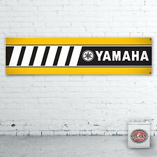 1200 x 305mmm YAMAHA MOTORBIKES Banner heavy duty workshop, garage mancave