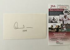 Edward Albee Signed Autographed 3x5 Card JSA Certified Playwright Pulitzer