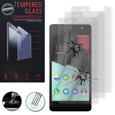3X Safety Glass for Wiko Selfy / Selfy 0.1oz Genuine Glass Screen Protector