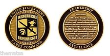 """ARMY CADET COMMAND CREED LEADERSHIP EXCELLENCE MISSION ROTC 1.75"""" CHALLENGE COIN"""