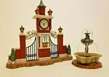 Reduced! New Department 56 Christmas in the City (Cic) City Park Gateway #58992