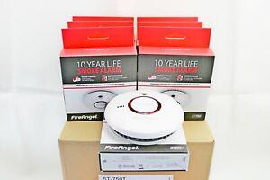 FireAngel ST-750T Thermoptek Toast Proof Smoke Alarm Pack of 1,2,6,10 *Exp 2031