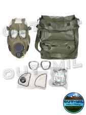 Maschera antigas M10 Esercito Ceko con filtri e borsa portamaschera