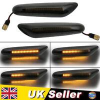 Dynamic LED Turn Signal Side Light Indicator For BMW E46 E36 E90 E91 E61 E81 E92