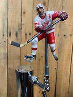 DETROIT RED WINGS Beer Keg Tap Handle  NHL HOCKEY White Jersey Shanahan