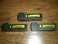KENNAMETAL  (1) DTFNR 245D & (2) 246D Lathe Turning Tool Holders (LOT- OF 3)