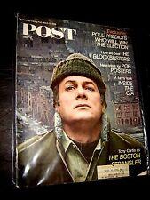 March 23,1968 SATURDAY EVENING POST MAGAZINE TONY CURTIS BOSTON STRANGLER CIA !