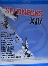 Slednecks 14 BLU RAY Snowmobile Movie Video Snowmobiling XIV Extreme Sports