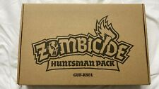 Zombicide Black plague kickstarter Huntsman Pack Complete - NEW - NEVER PLAYED