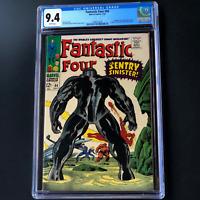 FANTASTIC FOUR #64 (1967) 💥 CGC 9.4 WHITE PGs 💥 1ST APP OF THE KREE SENTRY!