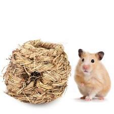 2X Pet Grass Nest Ferret Squirrel Rabbit Guinea Pig Rat Mouse Sleep Bed House AU