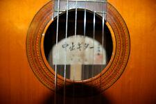 Alte Sakazo Nakade Gitarre Meistergitarre antik rar vintage guitar Japan luthier