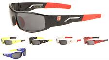 Wholesale 12 Pair Khan KIDS Sports Wrap Sunglasses - Assorted