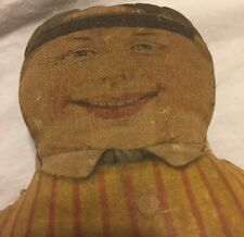 Rare Early Cloth Pattern Doll