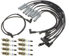 For Jeep Grand Cherokee 5.2L V8 1993-1997 Ignition KIT Spark Plugs+Wire Set