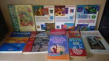 lot de livres et manuels scolaire dictionnaire Bescherelle