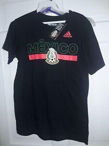 Selección Nacional de México Mexico Patriotic  soccer T-Shirt Adidas camiseta S