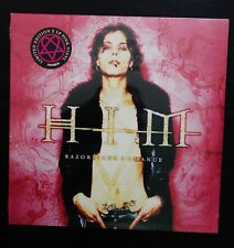 HIM - RAZORBLADE ROMANCE LIMITED EDITION 2LP VINYL (JIMMY FRANKS RECORDING CO.)