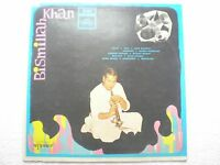 BISMILLAH KHAN  SHEHNAI 1969 RARE LP RECORD CLASSICAL INSTRUMENTAL INDIA EX