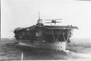 HMS Glorious. World War 2 photograph