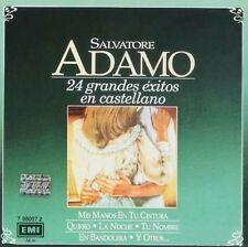 SALVATORE ADAMO 24 GRANDES EXITOS EN ESPAÑOL SEALED CD