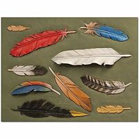 Craftaid Feathers Template  76631-00 by Tandy Leather