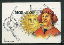 Brazil # 1301 Copernicus 1973 Mint Nh Souvenir Sheet