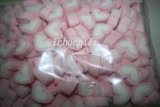 HEARTS STRAWBERRY Marshmallows 1kg Bulk Bag