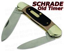 Schrade Old Timer Delrin Large Canoe 2-Blade Knife 11OT