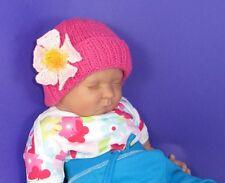 Las instrucciones impresas-Baby Seda Garter Stitch slouch hat Tejer patrón