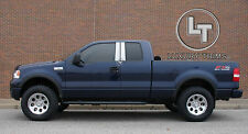 Ford F150 Extended Cab Stainless Chrome Pillar Post by Luxury Trims 2004-2008 4p