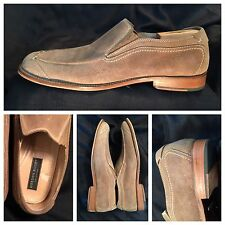 GORDON RUSH COLLECTION #4616 MEN 11.5 TAN SUEDE UPPER LEATHER LINED LEATHER SOLE