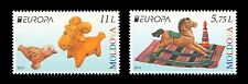 "Moldova 2015 CEPT Europa ""Old Toys "" 2 MNH stamps"