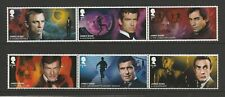 GB 2020 James Bond Stamps MNH