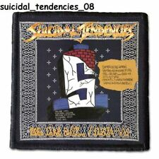 SUICIDAL TENDENCIES  Patch  4x4 inche (10x10 cm) new VOL. 2