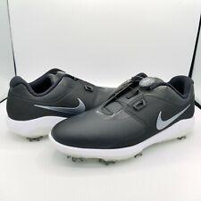 Nike Vapor Pro Boa Laceless Black White Men's Golf Shoes Aq1790-001 - Size 11