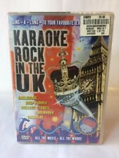 Karaoke Rock in the Uk - Dvd (2003) Favourite U.k. Rock Classics - NEW / SEALED