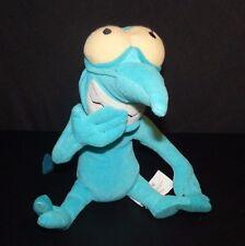 "Disney Hercules Panic Blue Devil Demon Imp Stuffed Animal Bean Bag Plush 11"""