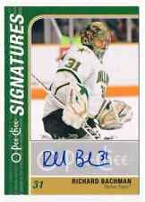 2011-12 O-PEE-CHEE SIGNATURES RICHARD BACHMAN AUTO DALLAS STARS #OS-RB