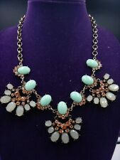 Signed Plunder Design  Faux Turquoise Gems MAGGIE Necklace