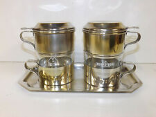 Vintage 1930s/40s Pair of French  Single Cup Cafetieres