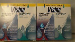 Visine Value Multi- Pack Totality, Dry Eye 2-15mL (2pk bundle) exp 10-2020