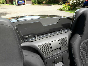 Mazda MX-5 Mk3 NC 2006 - 2015 Acrylic Wind Blocker / Deflector Grey Tinted
