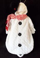 Miniwear Snowman Baby Bunting Costume 0-9 Mo Halloween Winter Christmas Costume