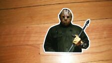 JASON VOORHEES STICKER FRIDAY THE 13TH