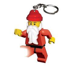 Légo Porte-clés torche Père Noël Père Noël NEUF LAMPE TORCHE