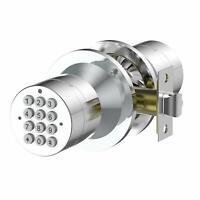Turbolock Security Smart Door Lock Keyless w/ Keypad Automatic Locking Silver