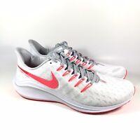 Nike Air Zoom Vomero 14 White Laser Crimson Running Mens Shoes AH7857-102 Sz 11