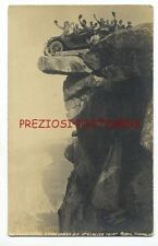 1916 RPPC - PILLSBURY'S STUDEBAKER SIX at Glacier Point YOSEMITE CA Great. Rare.